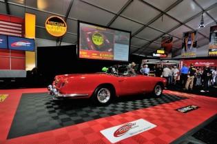 1961 Ferrari 250 Series II Cabriolet sold for $2,250,000
