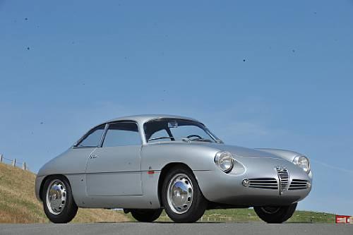 <strong>1961 Alfa Romeo Giulietta Sprint Zagato Berlinetta – Estimate $240,000 - $270,000.</strong> Coachwork by Zagato.