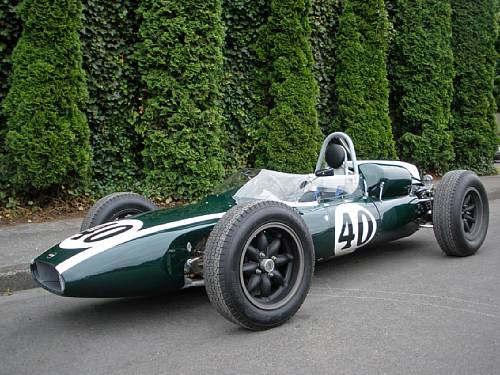 <strong>1961 Cooper Climax 1.5-2.5-liter T55 – Estimate $250,000 - $350,000. </strong>Ex-works, Sir Jack Brabham, Aintree 200, Levin, Lakeside and Sandown Park-winning.