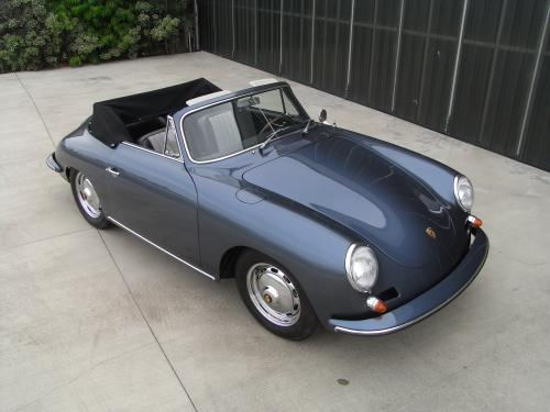 <strong>1961 Porsche 356 Carrera 2 Cabriolet</strong> – Owned for first four years by Dr. Ferry Porsche.