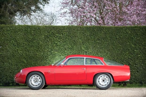 1962 Alfa Romeo Giulietta SZ Coda Tronca
