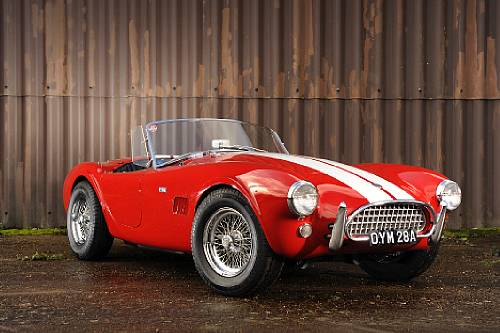 <strong>1963 AC Shelby Cobra CSX2116 sold for £232,500 versus pre-sale estimate of £220,000-280,000</strong>