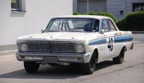 1963 Ford Falcon Futura Sprint, class winner at the 1963 Monte Carlo Rally
