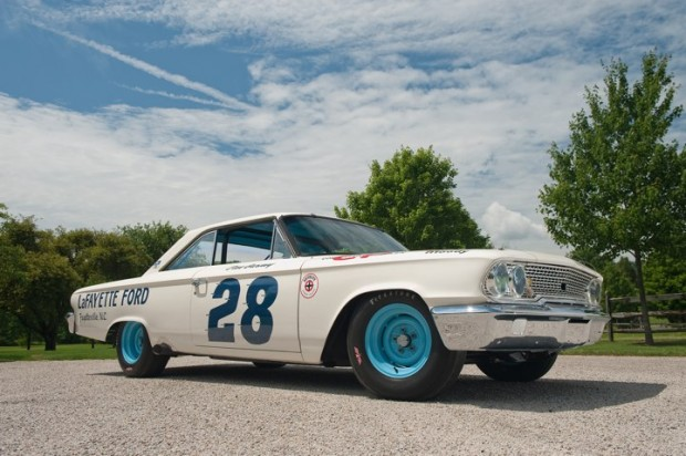 1963 Ford Galaxie Holman & Moody NASCAR Race Car