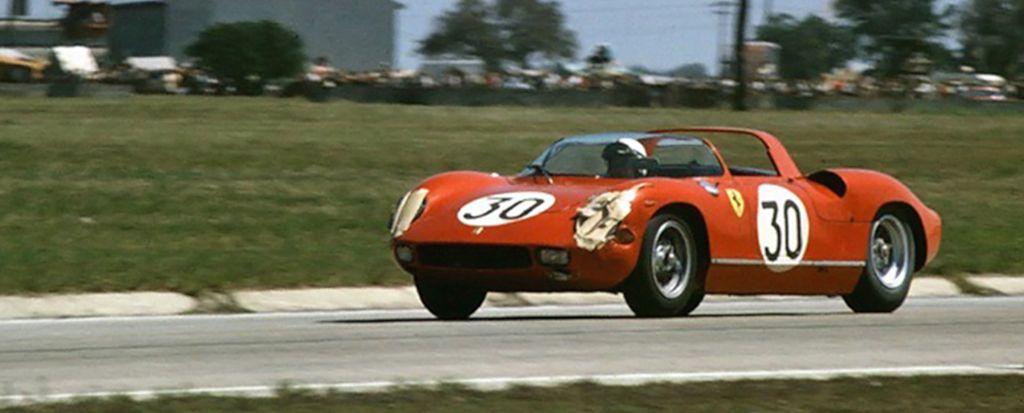 Ferrari 250P, winner of the 1963 Sebring 12 Hours (Gerry Johannson photo)