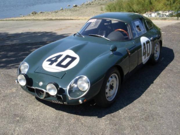 <strong>1963 Alfa Romeo TZ – Estimate $375,000 - $475,000.</strong>