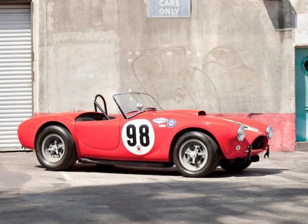 1963 Shelby Cobra 289 Roadster Factory Team Race Car