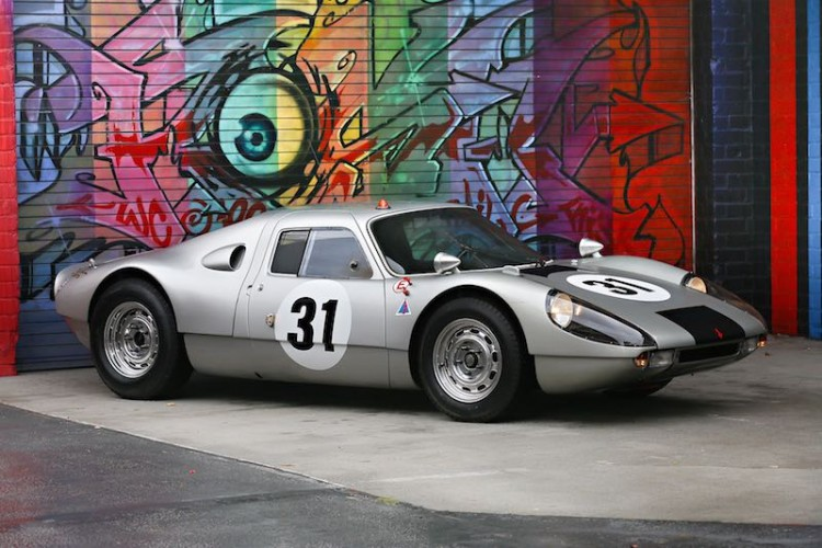 1964 Porsche 904 Carrera GTS, chassis 904-006 (photo: Mathieu Heurtault)