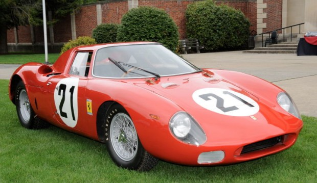 Best of Show Competizione went to the 1965 Ferrari 250LM that won Le Mans at the hands of Jochen Rindt and Masten Gregory