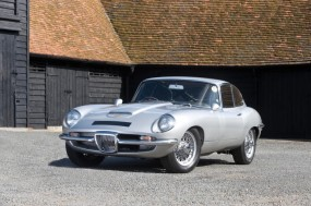 <strong>Lot 221 - 1965 Jaguar Coombs E-Type GT - Estimate $87,000-$120,000. </strong> Only John Coombs Jaguar E-Type with a Prototype Frua body in existence.