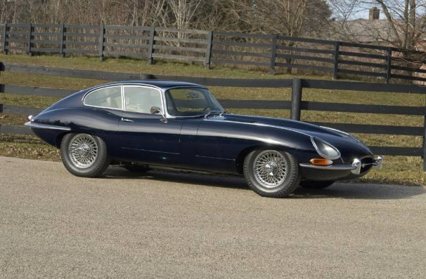 1965 Jaguar XKE 4.2-Liter S1 Fixed Head Coupe