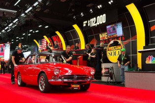 1965 Sunbeam Tiger Roadster sold for $142,500