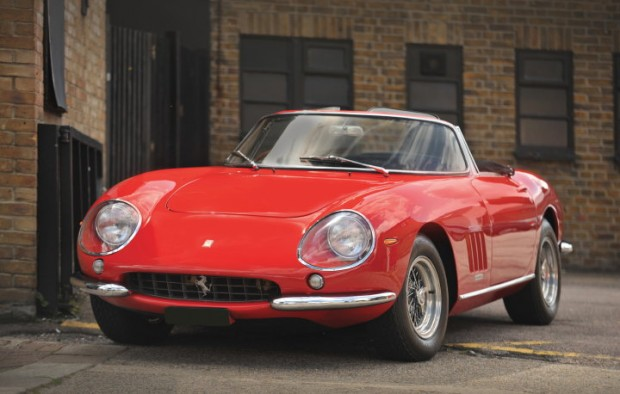<strong>Lot 206 - 1966 Ferrari 275 GTB NART Spyder Conversion - Sold for $773,712 versus pre-sale estimate of $730,000 - $895,000.</strong>