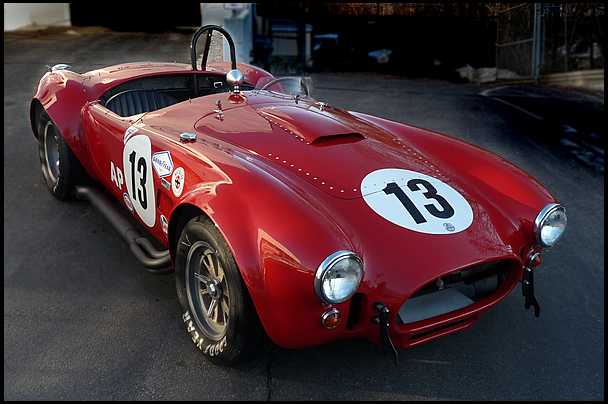 <strong>1966 Shelby Cobra 427</strong> – CSX3020; Ex-Tom Payne Competition Roadster