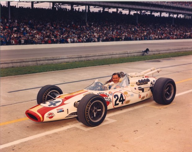 Graham Hill Lola-Ford, Winner 1966 Indy 500