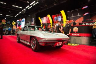 1967 Chevrolet Corvette Convertible Mecum Harrisburg 2016