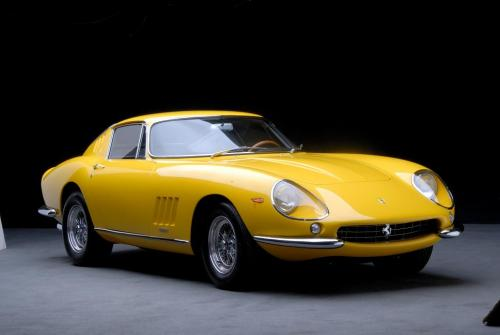 <strong>1967 Ferrari 275 GTB/4</strong> – From Skip Barber Collection; featured restoration on Speed TV show, 'Dream Car Garage.'