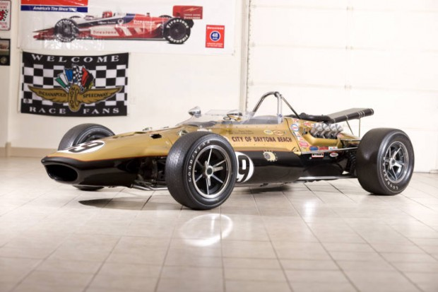 <strong>1967 Gurney Eagle Mk III Indy Car – Estimate $350,000 - $450,000.</strong> Only six 1967 Gurney Eagles exist; this was tuned by Smokey Yunick; Dennis Hulme piloted to 4th place finish at 1967 Indianapolis 500; offered without reserve.