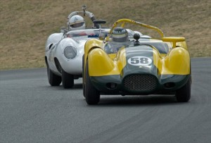 1957 Lister Knobbly Tom Malloy and 1958 Lister Jaguar Steve Hilton