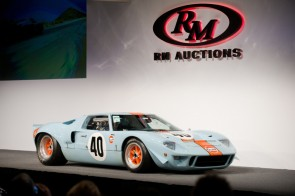 1968 Ford GT40 crosses the block at the RM Auctions sale (photo: RM Auctions)
