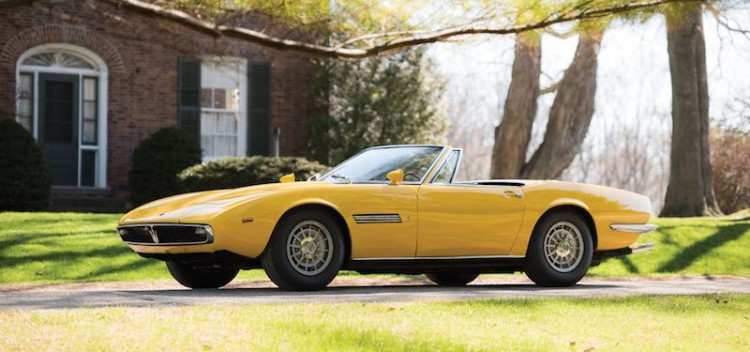 1968 Maserati Ghibli 4.7 Spider Prototype (photo: Darin Schnabel)