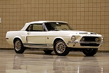 1968 Shelby GT500 KR (Lot S105.1) sold for $185,000