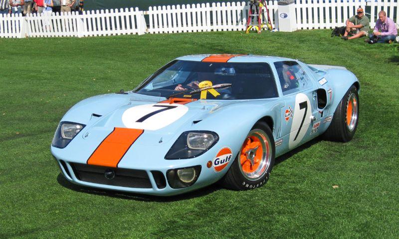 1968 Ford GT40 Mk II, Harry Yeaggy, Cincinnati, OH