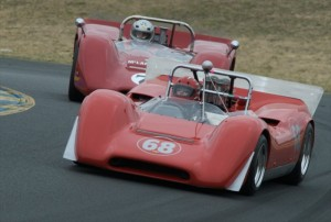 1968 Lola T160 Todd Glyer and McLaren M6B
