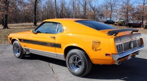 1970 Ford Mustang Mach 1 Twister Edition 428