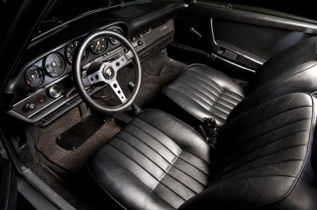 Steve McQueen Porsche 911S Interior