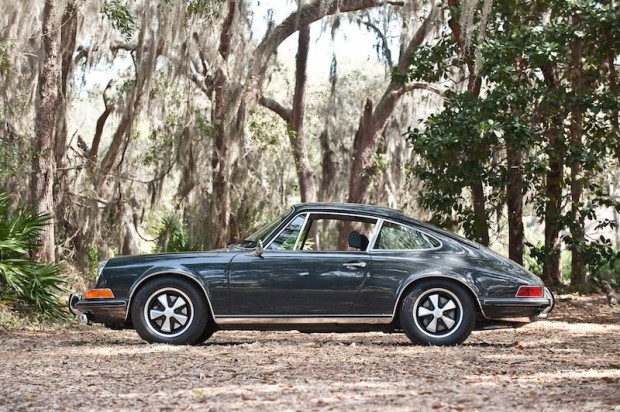 Steve McQueen Porsche 911S Side Profile