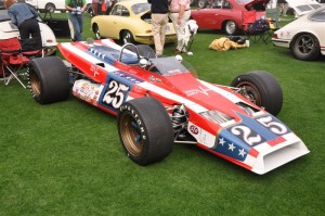 1970 Mongoose Indy 500 Race Car as driven by Lloyd Ruby at the 1970 Indianapolis 500