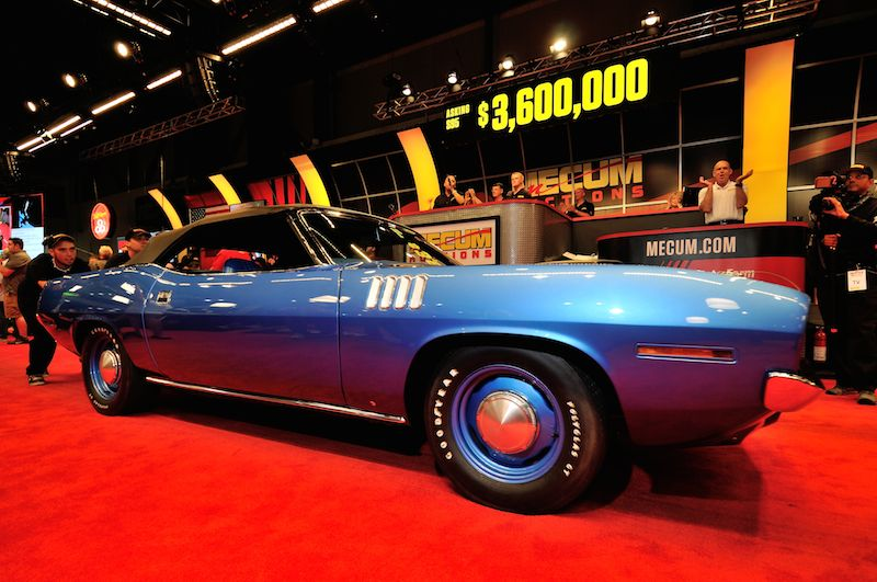 Mecum Seattle 2014 – Auction Results