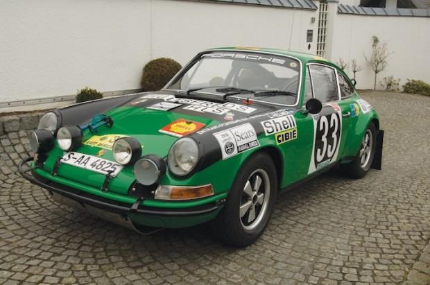 1971 Porsche 911 ST, East African Safari Rally