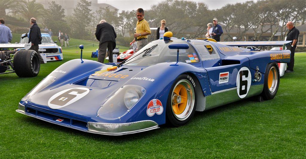 1971 Sunoco Ferrari 512M at the 2009 Amelia Island Concours d ...