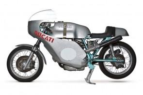 1972 Ducati 750SS 200 Miles Imola Racer Green Frame