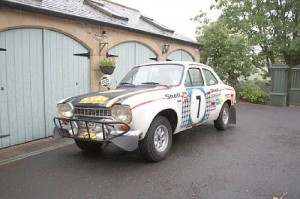 Ford Escort RS1600 Rally