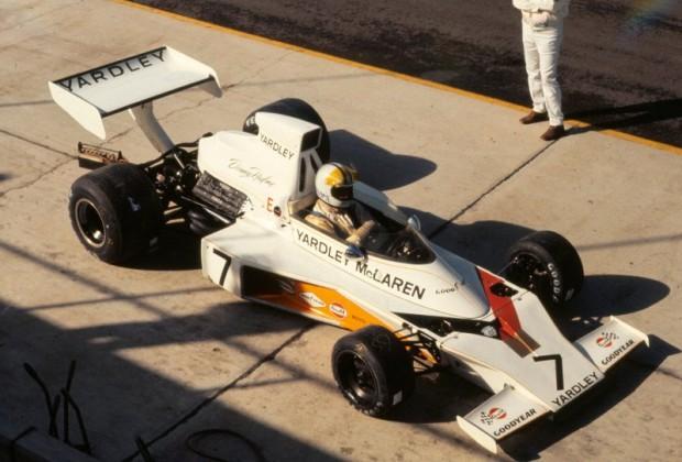 Denny Hulme - Yardley McLaren M23