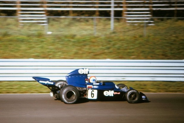 Francois Cevert on one of his last, if not the last lap.