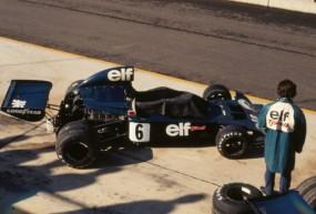 Tyrrell 006 of Francois Cevert