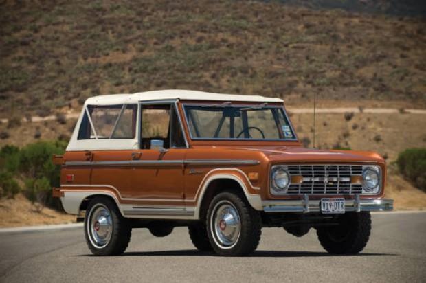 <strong>1973 Ford Bronco Ranger Wagon – Estimate $20,000 - $30,000.</strong>