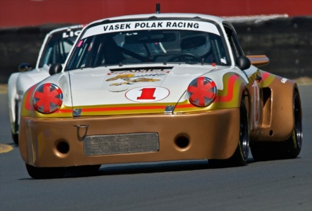 Porsche 911 RSR of James Edwards during Wine Country Classic