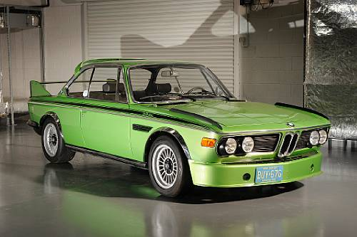 <strong>1975 BMW 3.0 CSL Batmobile – Estimate $180,000 - $220,000.</strong>