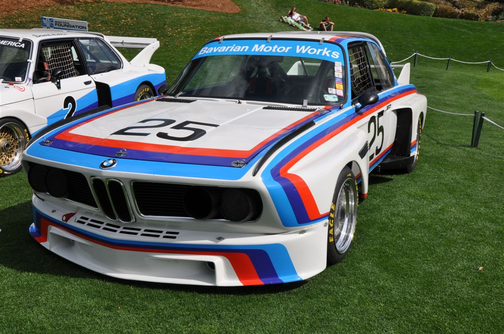 1975 BMW 3.0 CSL at the 2009 Amelia Island Concours d'Elegance
