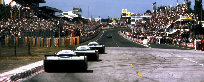 Photo finish for the 1982 Le Mans 24 Hours