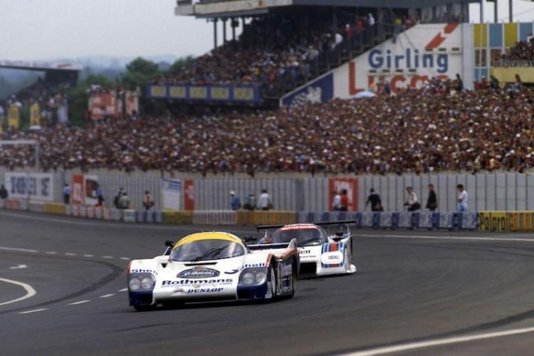 1982 Porsche 956 at Le Mans (photo: DPPI)