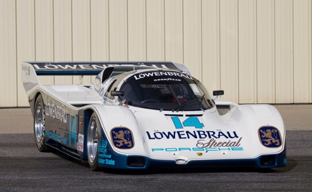 1984 Porsche 962, Chassis 962-103, Estimate: $1.75 - $2.225 million - According to Gooding & Company specialists, this car is the finest example of the Porsche 962 and one of the most successful racing cars of its generation. With only two owners from new, this back-to-back 24 Hours of Daytona winner will be one of the Drendel Family Collection's most significant offerings at the auction with its immediately recognizable Lowenbrau livery, list of legendary drivers, unrivalled racing record and superb documentation.