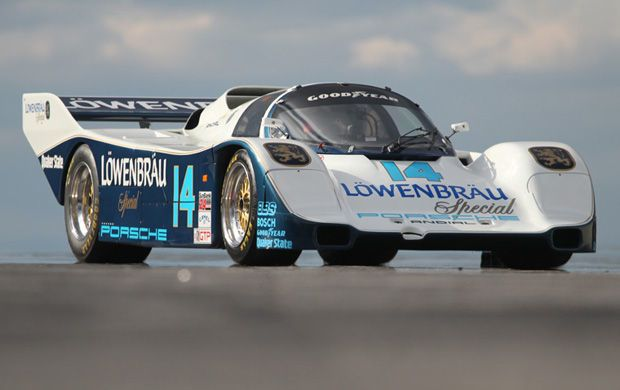 1984 Porsche 962, lowenbrau, team holbert, al holbert