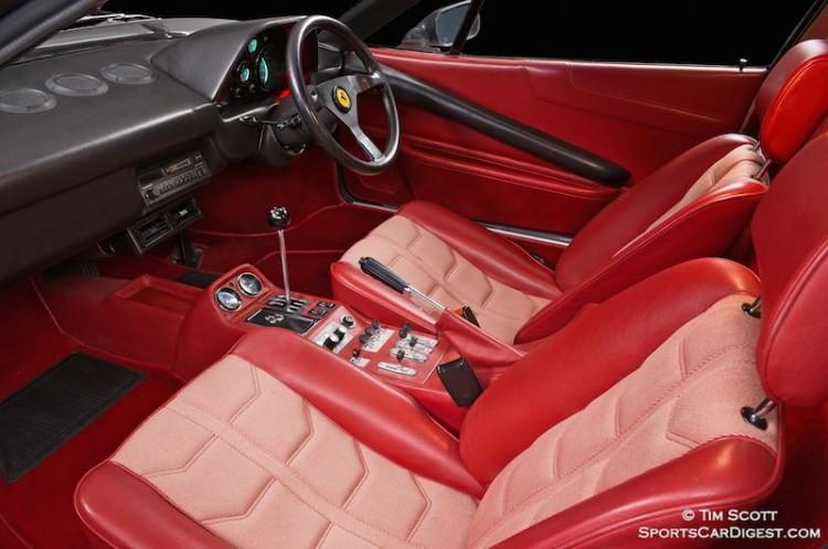 Rare right-hand-drive model 1985 308 GTB QV