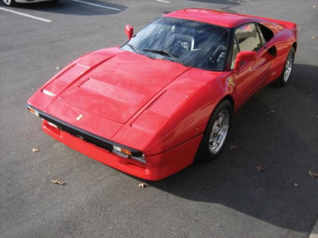 <strong>1985 Ferrari 288 GTO – Estimate $485,000 - $595,000.</strong>
